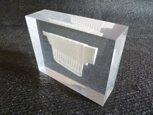 Clear resin embedding 6